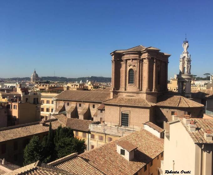 Sulla terrazza della Rinascente in via del Tritone! – BlogRomaisLove