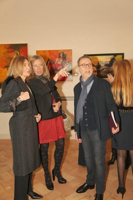 Jeanne Colonna, Maria Cristina Paoluzzi, Amedeo Brogli