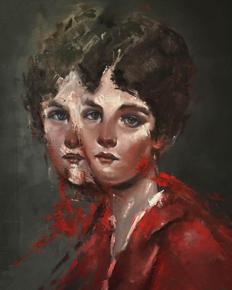 RvB-Arts_Giuliano-Macca_La-Solitudine-di-Psiche_2018_olio-su-tela_105-x-70-cm_light